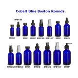 . 5oz. 1oz. 2oz. 4oz. Бутылка эфирного масла сини кобальта стеклянная с стеклянной капельницей
