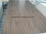grano de madera y color puro HDF de 17mm/16m m para el mercado de Nigeria