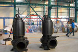 Bomba de água centrífuga da água de esgoto submergível principal elevada grande da capacidade