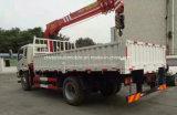 망원경 기중기 트럭 3 톤은 판매를 위한 XCMG 기중기로 거치했다