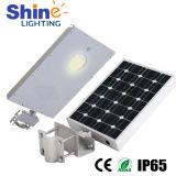 Luz de rua solar Integrated impermeável do diodo emissor de luz IP65 15W do uso ao ar livre