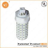 Lámpara del Pin 12W LED de Gx24q-1 Gx24q-2 Gx24q-3 Gx24q-4 4