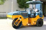 소형 도로 롤러 6 톤 유압 진동하는 타이어 쓰레기 압축 분쇄기 Jm206h