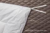 Duvet acolchoado caixa do pato da tela de algodão para baixo com frame