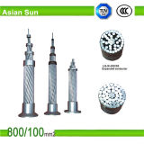 ASTM Transmisión Conductor de Aluminio cable para líneas aéreas
