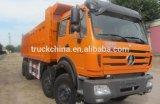 Autocarro con cassone ribaltabile resistente del carraio del camion 12 di Beiben