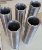 ASTM A53 Draht-Verpackungs-kontinuierlicher Schlitz-Bildschirm für geothermische Vertiefung