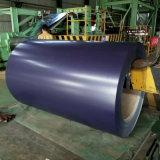 Color prepintado bobina de acero galvanizado prepintado de la bobina cubierto