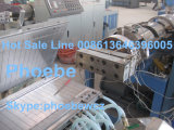 Maquinaria plástica para perfis do PVC WPC