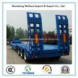 Высокого качества 3 Axles низкий кровати трейлер Semi от поставщика Китая