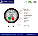 24cores Gyfts Non-Metallic 옥외 광섬유 케이블