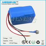 7.4V 39ah Lithium-Ionenbatterie besonders angefertigt für Industrieprodukt