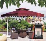Lumières solaires s'arrêtantes de parapluie de décoration de jardin de yard d'arbre de lanterne