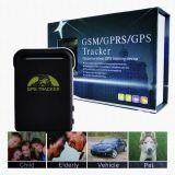 Perseguidor pessoal Tk102b do GPS do mini cartão Handheld da tecla SIM do SOS