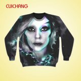 승화 Printing Custom Sweatshirt, 100%Cotton/Polyester를 위한 Crewneck Fashion Hoodies