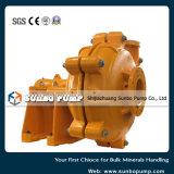 Bomba centrífuga horizontal de venda quente da pasta/bomba de mineração/bomba de lavagem de carvão