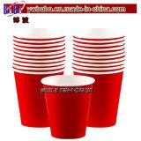 Artículos de fiesta rojo de papel Copas 20CT (W1003)