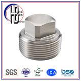 Ingepast 304/316 Vierkante HoofdStop van het Roestvrij staal