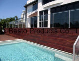 Fabricantes baratos personalizados da cerca de protetor do vidro Tempered da piscina de Frameless