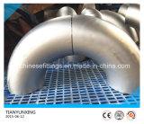 Gomito senza giunte della saldatura di testa dell'acciaio inossidabile di ASTM A403 Wp304