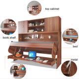 Bâti de Murphy en bois moderne de vente chaude avec le bureau et le Module