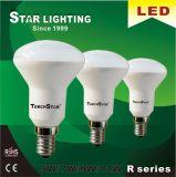 가정 사용을%s 30000hrs 일생 9W 4100k E27 R63 LED 전구