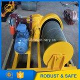 Alzamiento eléctrico de la mina para los materiales de elevación de la pequeña mina