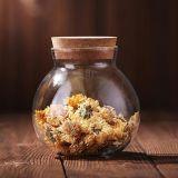 Vaso di memoria dell'alimento di vetro di Borosilicate per i biscotti e gli alimenti asciutti/vaso di vetro di memoria
