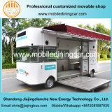 Acoplado móvil vendedor superior del alimento de la exposición con el Ce para la venta