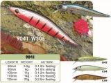 Divers attrait de pêche de taille de la meilleure de natation d'action amorce de vairon