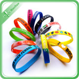Heißer Verkaufs-kundenspezifischer Produkt-Silikon-GummiWristband
