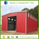 La plupart d'entrepôt portatif en acier léger préfabriqué de structure métallique de construction en acier populaire de coût bas