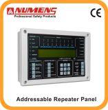 Painel de controle endereçável do repetidor do alarme de incêndio da aprovaçã0 do En (6001-08)