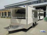 Camion mobile multifonctionnel de nourriture ventes de meilleur de qualité de 2017 camion chaud de nourriture