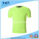 camiseta redonda de secado rápido del cuello de 220GSM Dacron