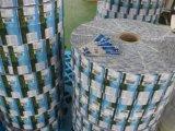 Escritura de la etiqueta impresa encogimiento del PVC