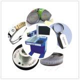 Marcação do laser da fibra do metal/máquina de gravura, marcação do logotipo, marcação do metal, Eu-Almofada, iPhone/Apple