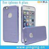 Caja aplicada con brocha durable de la cubierta del teléfono para el iPhone 6 de Apple