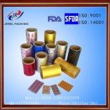 Aluminiumfolie 20mic Pharmeceutical Materiële Packagaing van de Blaar van Ptp de Gouden