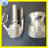 Schnelle passende Aluminiumnockensperre-Aluminiumkupplung