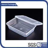 Tampa plástica descartável do copo para o recipiente de alimento