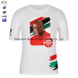 Impression politique blanche bon marché faite sur commande en gros de T-shirt de campagne d'élection