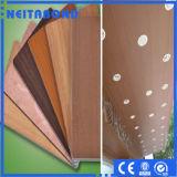 панель ACP поверхности древесины 3mm алюминиевая составная для украшения кухни