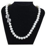 2016 Joyería fina del collar de las mujeres, collar corto de la perla cultivado
