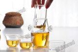 Alta taza de té creativa de negro del vidrio de Borosilicate