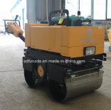 Compacteur d'asphalte de rouleau vibrant de tambour de double de poussée de main (FYL-800CS)