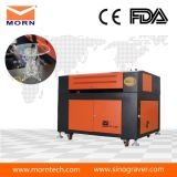 Máquina do laser do CO2 da alta qualidade para a estaca e os metalóides da gravura