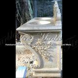 Lavabo dell'oro del deserto per la decorazione domestica Mbm-005