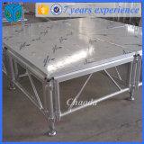 알루미늄 서리 커버 유리 단계 (CDS004)