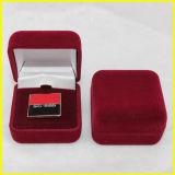 黒い長方形のビロードの記念品の硬貨ボックス